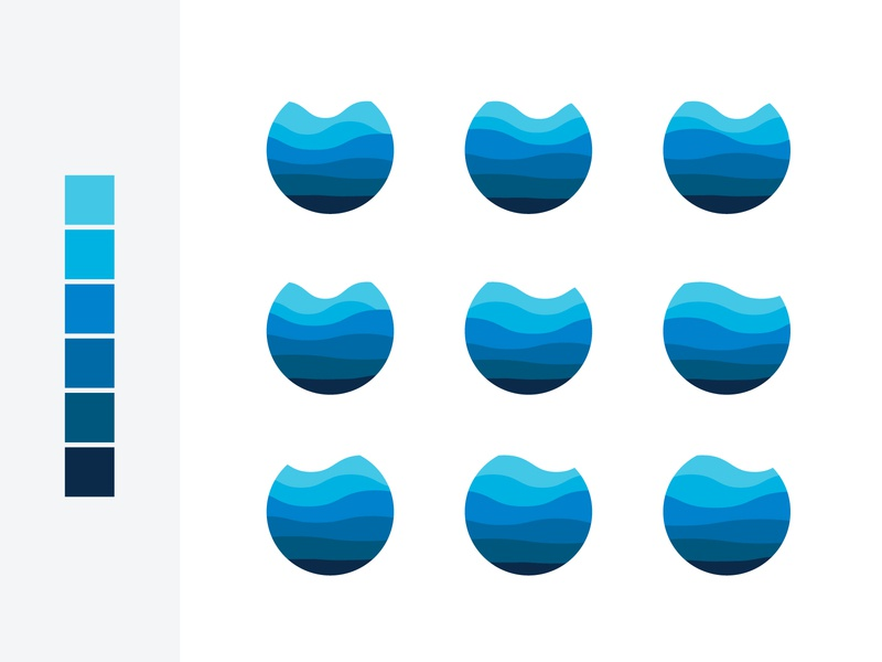 Exploring Water, Levels, and Depth illustration vector variation depth levels water
