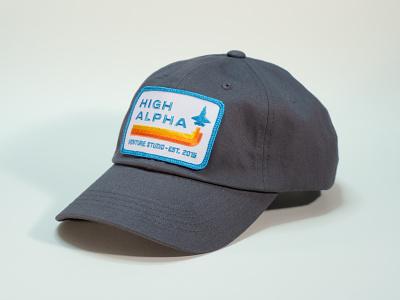 High Alpha dad hat high alpha hat badge patch