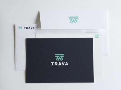 Trava cards and envelopes high alpha envelopes cards branding logo