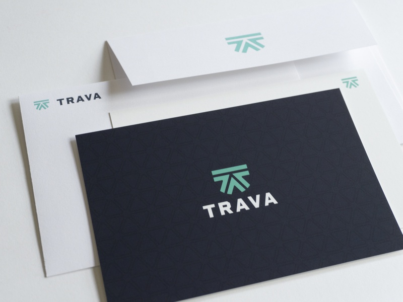 Trava cards and envelopes high alpha envelopes cards branding logo