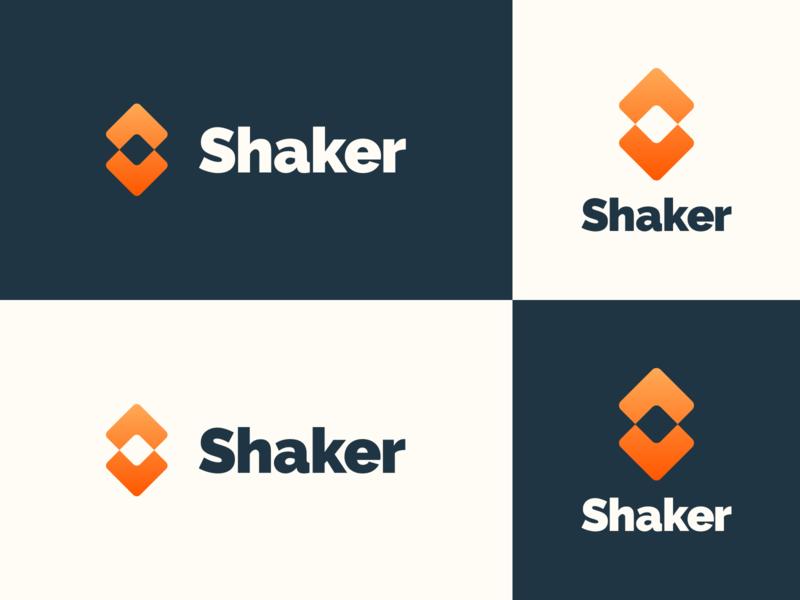 Shaker logo exploration logo design high alpha branding logomark logo