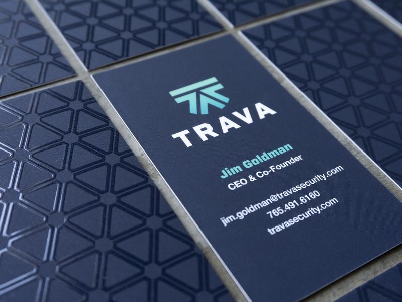Trava business cards branding high alpha trava business cards
