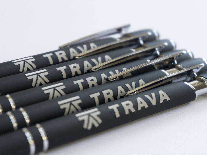 Trava pens swag branding high alpha pens trava