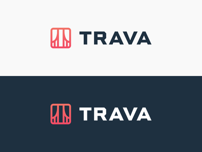 Trava logo exploration 1 high alpha identity branding logo mark logo