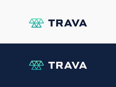 Trava logo exploration 2 identity branding logo mark logo
