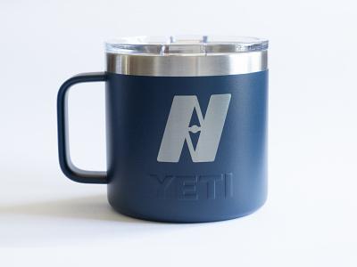 Navigators Yeti mug navigators mug yeti high alpha logomark logo