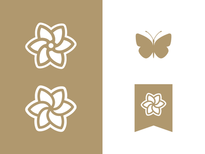Pediatric Cancer Icons pediatric cancer butterfly ribbon flower gold