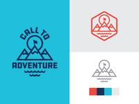 Call to Adventure logo set