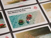 Airhead branding case study booklet