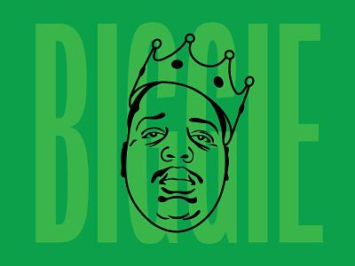 Biggie vector illustration rap notorious biggie smalls big