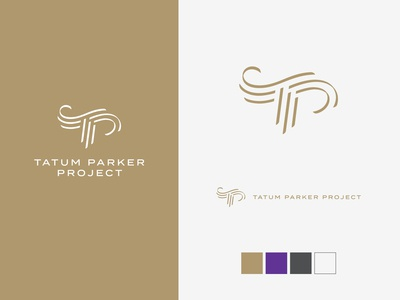 Tatum Parker Project logos and color scheme