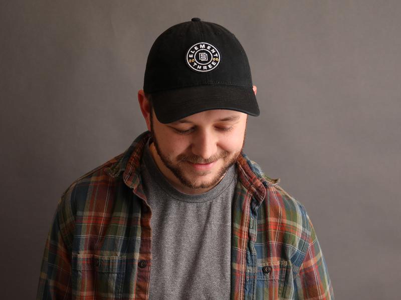 E3 dad hat patch badge hat element three dad hat