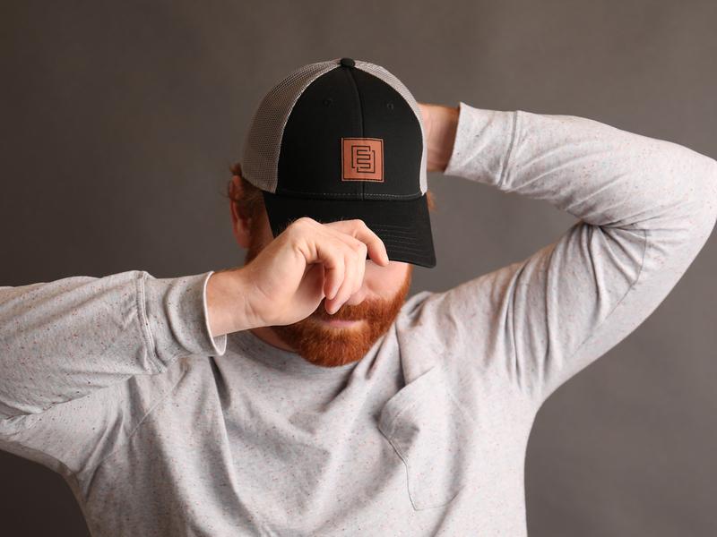 E3 trucker hat