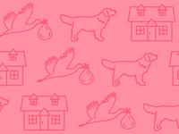 House, Kids, and a Golden Retriever