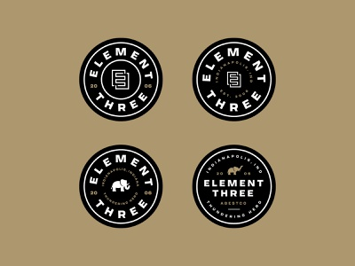 E3 dad hat badges element three dad hat patch badge