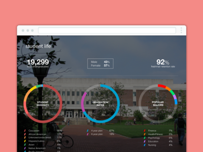 Student Life colleges infographic data college education edtech