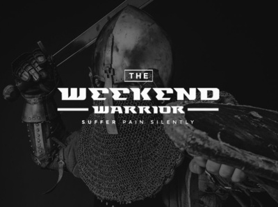 Weekend Warrior Sans Serif Font
