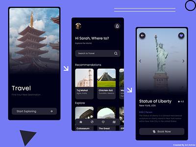 Travel App Design travel app design travel app ui travel app travel design app