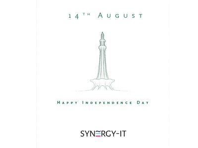 Minar photoshop synergy 14th august independence day minar e pakistan