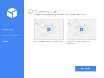 Wizard - desktop application 2