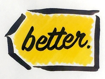 Better Buy Logo lettering illustration nonprofit typography hand lettering environmental advocacy energy efficiency logo best buy