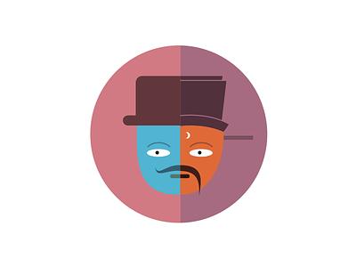 Sherlockholmes Vs Direnjie illustration fun graphic icon cute sherlockholmes