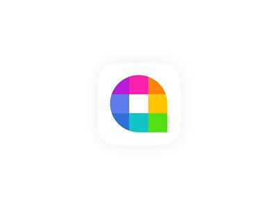 Logo for 流利学院 graphic design icon logo
