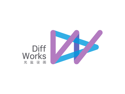 Diff Works logo diffworks graphic