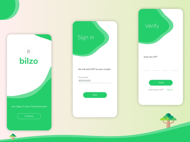 E-bill app - bilzo