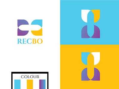 Recbo logo design ui branding illustration professional logo minimalist logo luxury logo logodesign logo design creative logo
