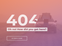 404 Page Daily UI #008
