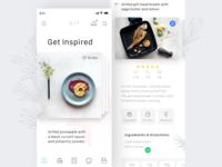 Food App Concept.