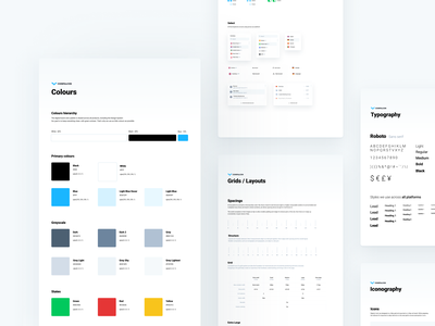 Cryptocurrency Exchange - Design System styleguide components app web bitcoin design system crypto cryptocurrency