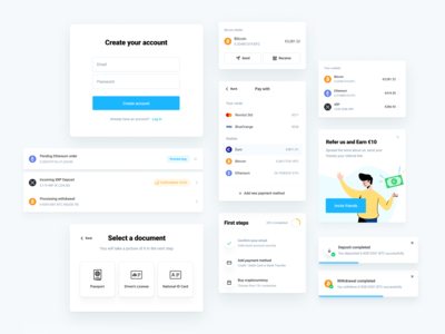 Cryptocurrency Exchange - Components