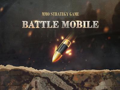 Battle Mobile: User Interface mobile game battle tank ww2 world war war game ui ui game