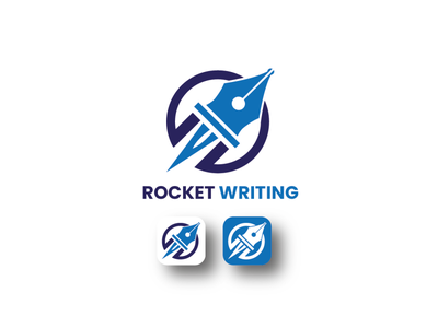 Rocket Writing Logo brand logo corporate branding corporate logo rocket logo web icon software icon icon logo rocket icon rocket art logo writing logo rocket writing logo vector illustration icon design branding modernlogo minimalistlogo logotype logo