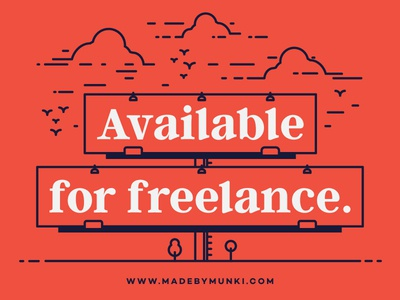 Freelancer for hire