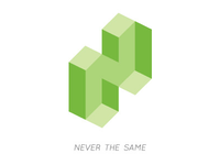 Never the same logo