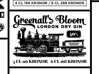 Gin drink menu