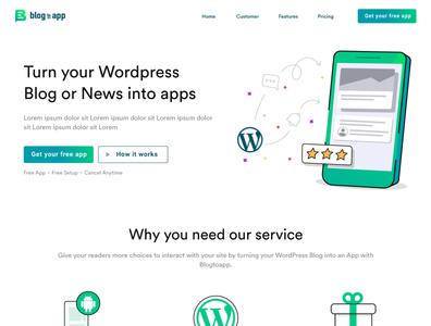 Blog to App