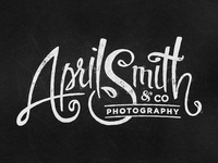 Rejected logo: April Smith & co.