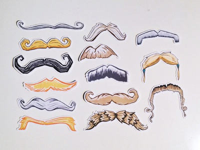 Its Time For A Mustache Party stache mustache props photo booth photobooth