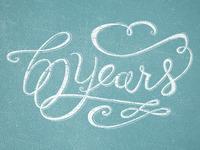 60 year anniversary type