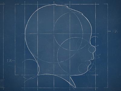 Genevieve 21 Week silhouette vie genevieve week 19 blue prints blueprints sketch drawing plans