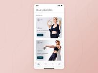 Yoga iOS app - Animation