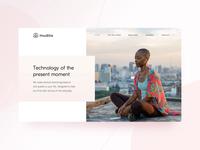 Mudita.com – Home Page animation