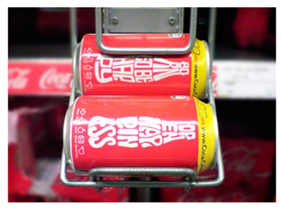 Coke cans3