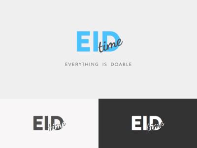 EID Time Logo Design