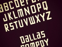 Custom Type for Dallas Comedy House