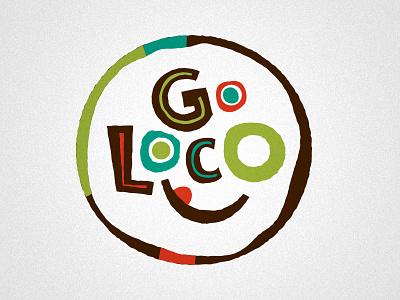 Go Loco Logo logo typography mexican